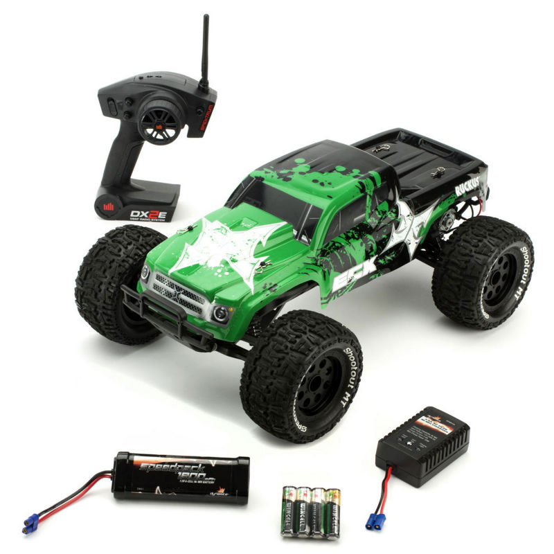 Ruckus 1 10 2wd Monster Truck Green Black Rtr R C Madness