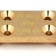 ASC91659 Factory Team B6/B6D Brass Bulkhead