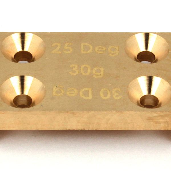 ASC91659 Factory Team B6/B6D Brass Bulkhead