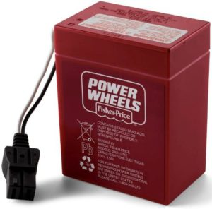 Power Wheels 6-Volt Rechargeable Battery PWR6V