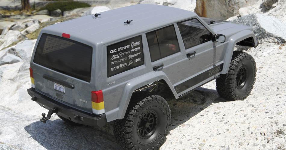 SCX10 II Jeep Cherokee RTR In Stock
