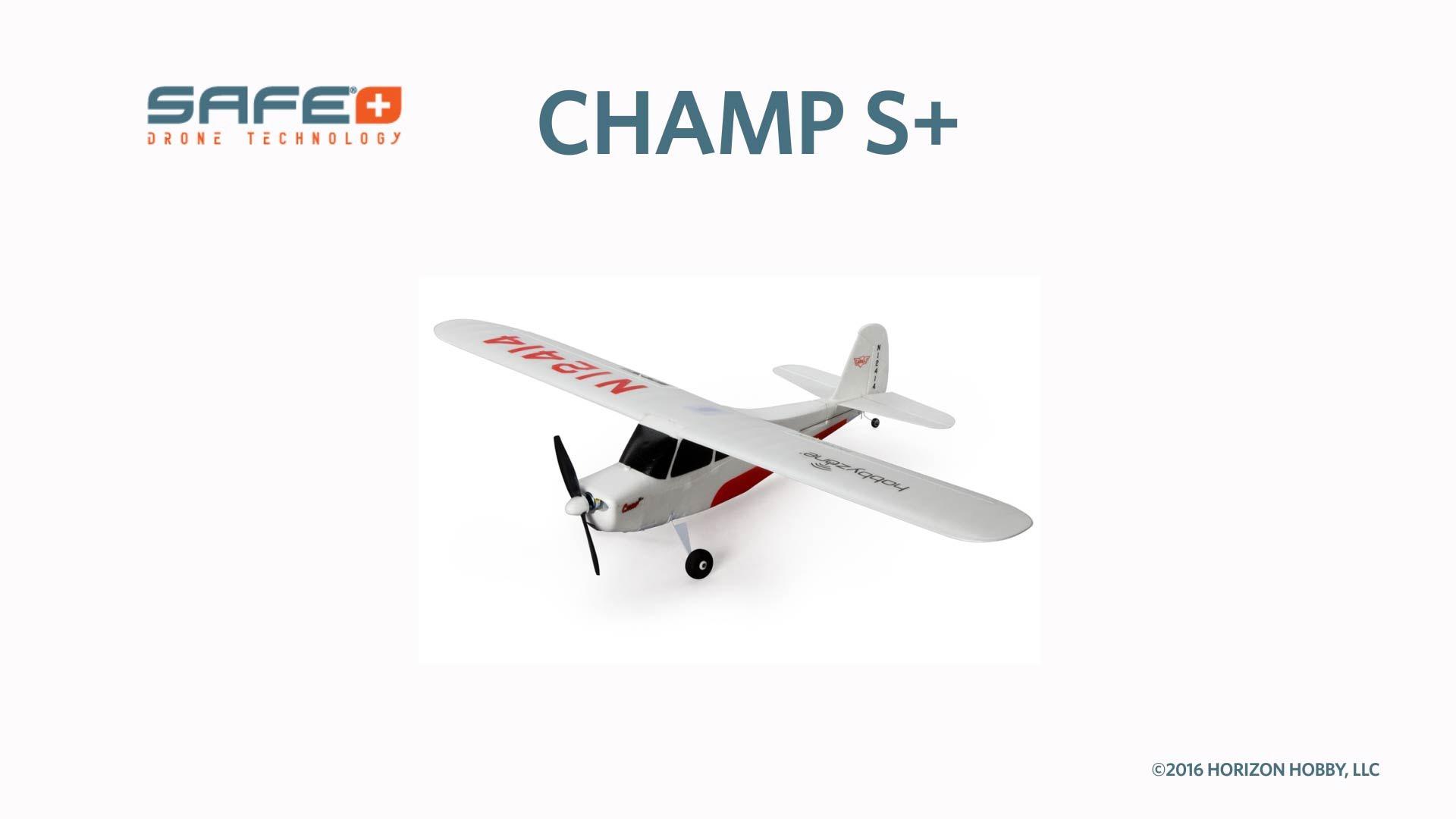 Champ S+ RTF In Stock