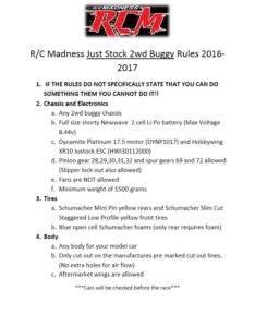 super-stock-buggy-rules