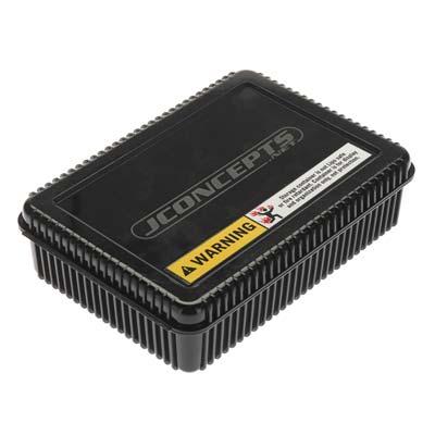 Shorty Storage Box w/Foam Liner Black