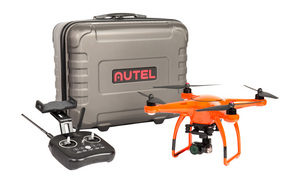 X-Star Premium Drone with 4K Camera, 1.2-mile HD Live View and Hard Case (Orange)