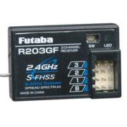 R203GF 2.4GHz S-FHSS Rx 3Ch 3PRKA 3PV