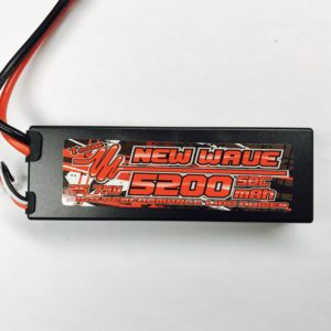 New Wave 2s 5200mah 50c Li-Po Battery