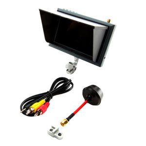 Spektrum 4.3 inch video monitor, sunshade, mount