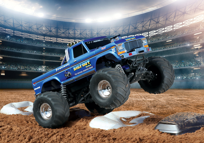 Stampede Bigfoot 1 The Original Monster Truck Blue R C Madness