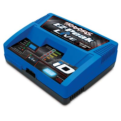 EZ-Peak Live 12-AMP NiMH/LiPo Fast Charger w/Blue
