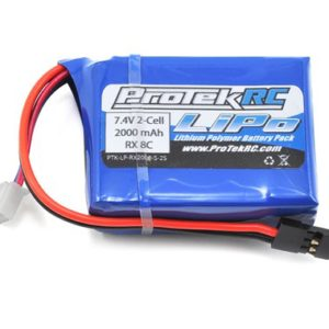 ProTek RC LiPo Losi 8IGHT Receiver Battery Pack (7.4V/2000mAh) (w/Balancer Plug)