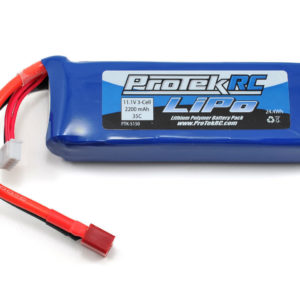 ProTek RC 3S 35C Supreme Power LiPo Battery (11.1V/2200mAh) (Engine Heater)