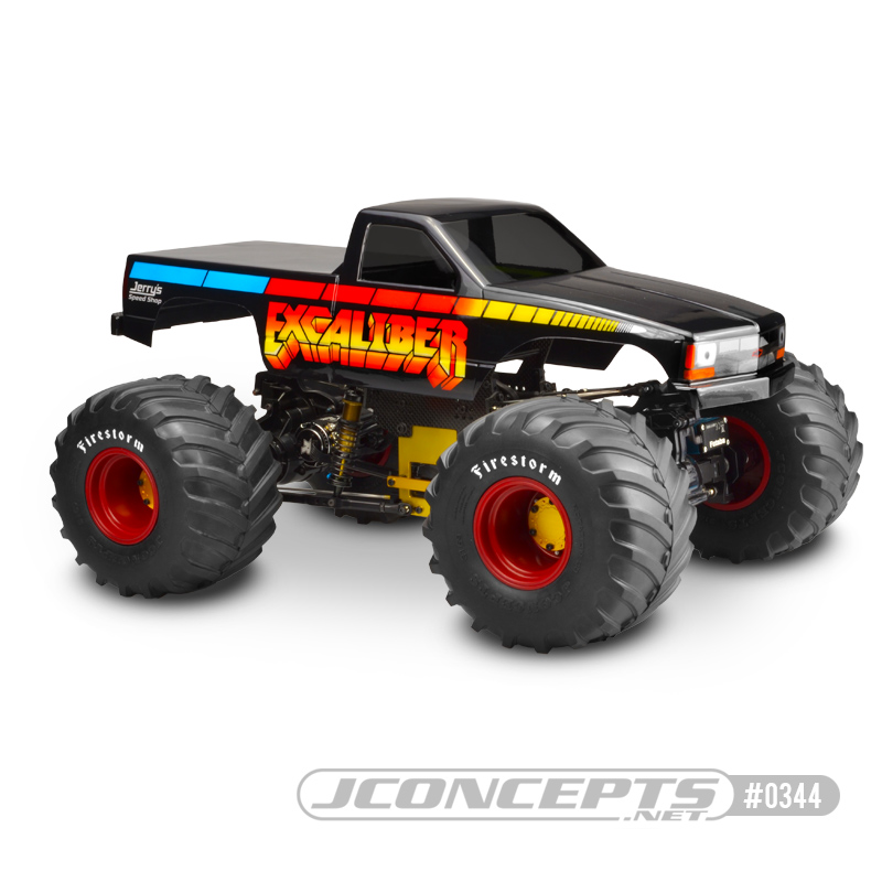 1988 Chevy Silverado Quot Snoop Nose Quot Monster Truck Body R C Madness