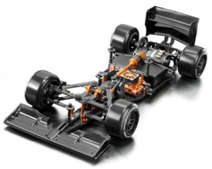 xra370703 XRAY X1 2018 Luxury 1/10 F1 Chassis Kit