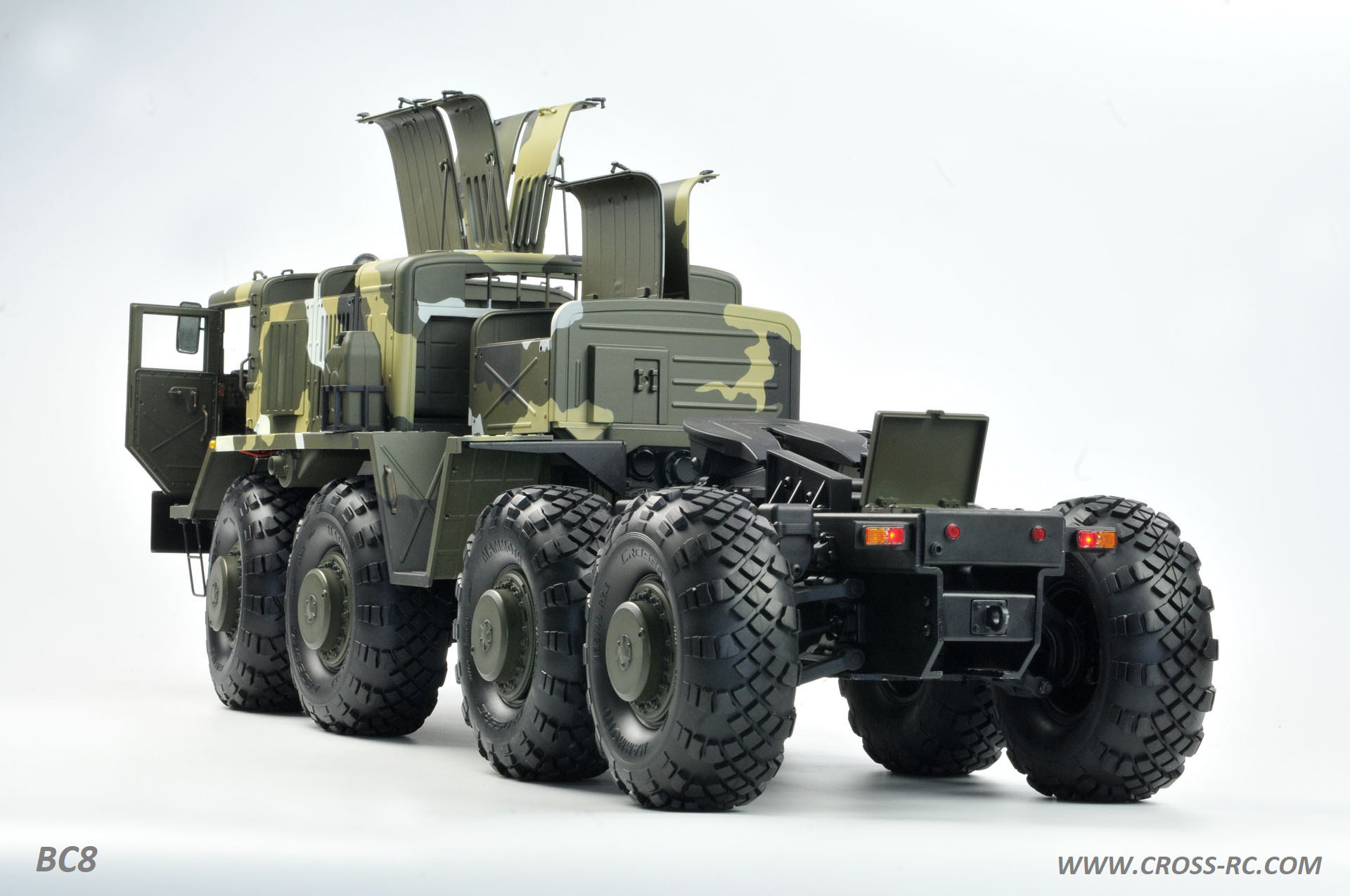 Bc8 Mammoth 1 12 Scale 8x8 Off Road Military Truck Kit