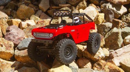 rouge-C-AXI90081T1 AXIAL SCX24 Deadbolt 1//24th Scale Elec 4x4-RTR